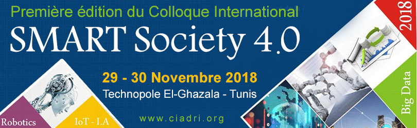 La première édition du Colloque International SMART Society 4.0
